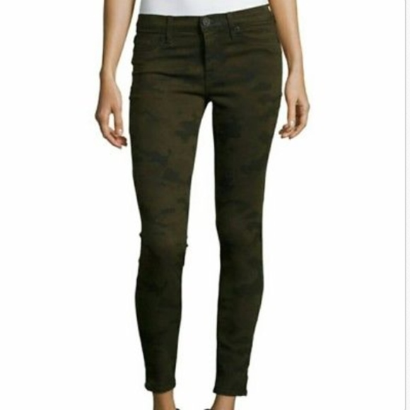 e8c750ee61a Hudson Jeans Jeans   Hudson Krista Super Skinny Ankle Dark Camo ...